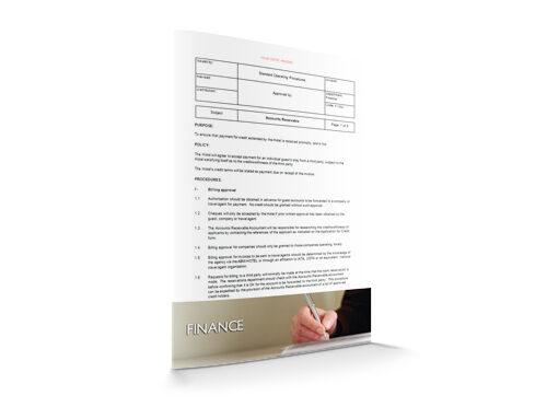 Accounts Receivable : Finance : Sopforhotel.com : SOP