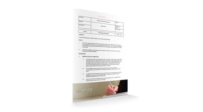 Travel Agent Commission : Finance : Sopforhotel.com : SOP