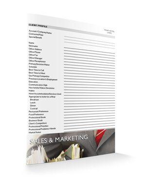 Client Profile (Detailed) : Sales : Sopforhotel.com : Record