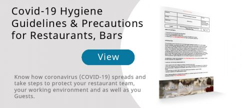 Covid-19 Guidelines - Food & Beverage