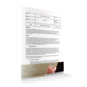 FI 009 - Finance - Food & Beverage Cost Control
