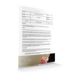 FI 022 - Finance - Receiving procedure