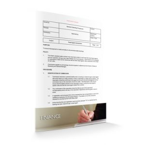 FI 024 - Finance - Travel agent commission